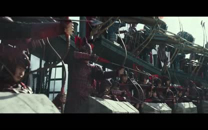 Taotie Attack The Great Wall - First Battle Scene  The Great Wall (2017) Movie ClipHD
