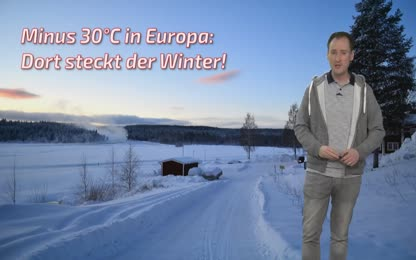 Mod.: Dominik Jung |  Minus 30 degrees in Europe! Comes the freezing cold to Germany | Must watch